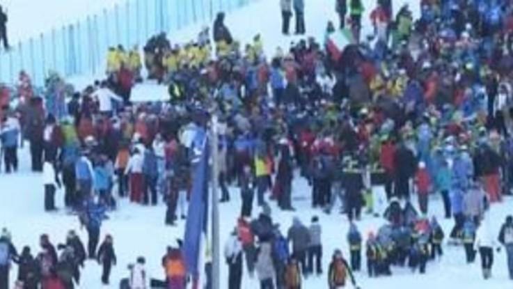 """Coppa Mondo sci: una festa """"Gigante"""" a Sestriere"""