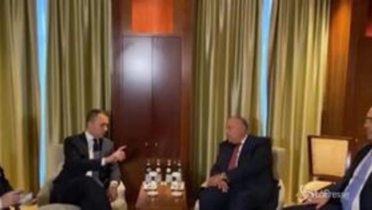 Di Maio a colloquio con i leader stranieri a Berlino