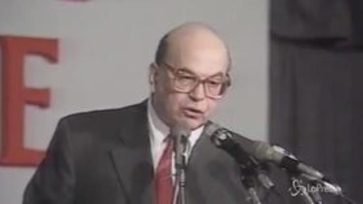 Craxi: 20 anni fa la morte del leader socialista