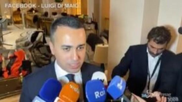 """Di Maio: """"Mettere al centro il popolo libico"""""""