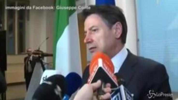 """Conferenza sulla Libia, Conte da Berlino: """"Significativi passi in avanti"""""""
