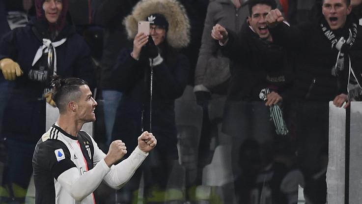 Serie A, doppio CR7 e Juve prova la fuga: Parma ko, +4 su Inter