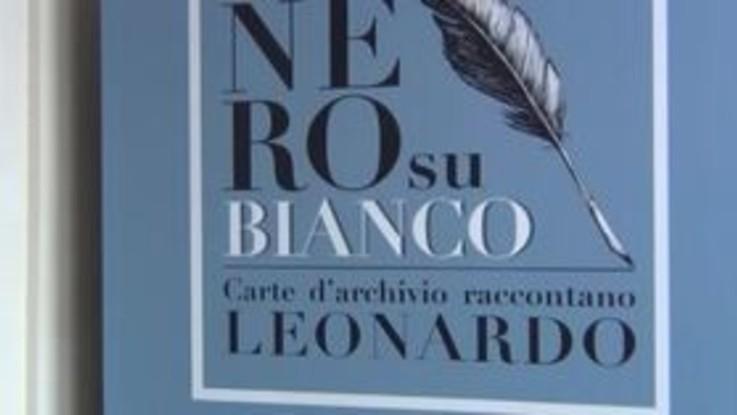 'Nero su Bianco', i documenti di Leonardo in mostra a Milano