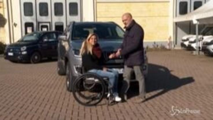 Fca Autonomy, una Jeep Compass per la tennista paralimpica Giulia Capocci