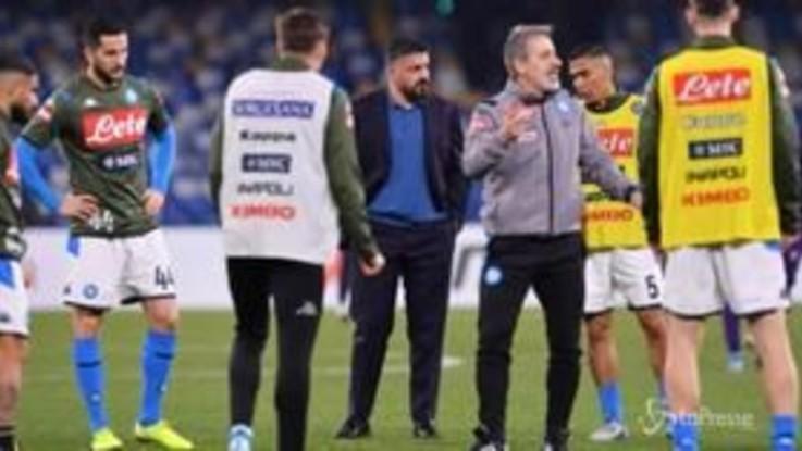 Coppa Italia, stasera via ai quarti con Napoli-Lazio
