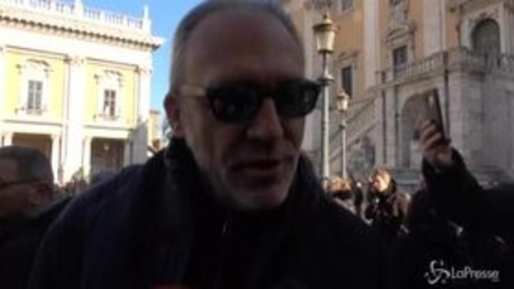 """Roma, Luca Ward contro la discarica di Monte Carnevale: """"No a un'altra Malagrotta"""""""