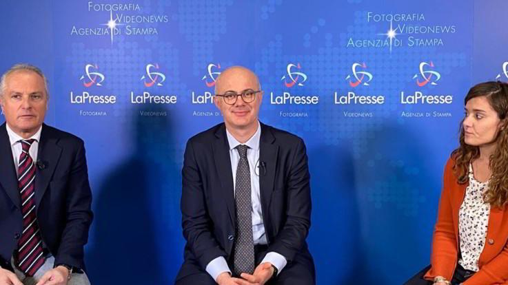Il Ministro per le Riforme Federico D'Incà ospite di PoliticaPresse I VIDEO