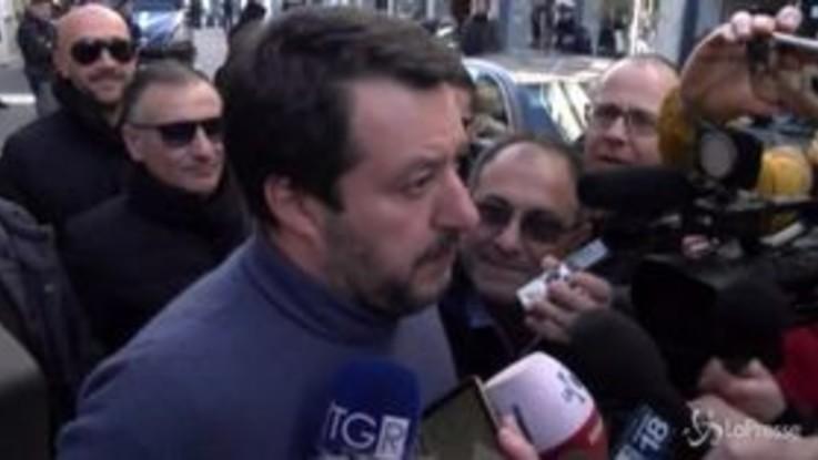 """Passo indietro Di Maio, Salvini: """"L'abbraccio di Grillo al Pd ha tradito la voglia di cambiamento"""""""
