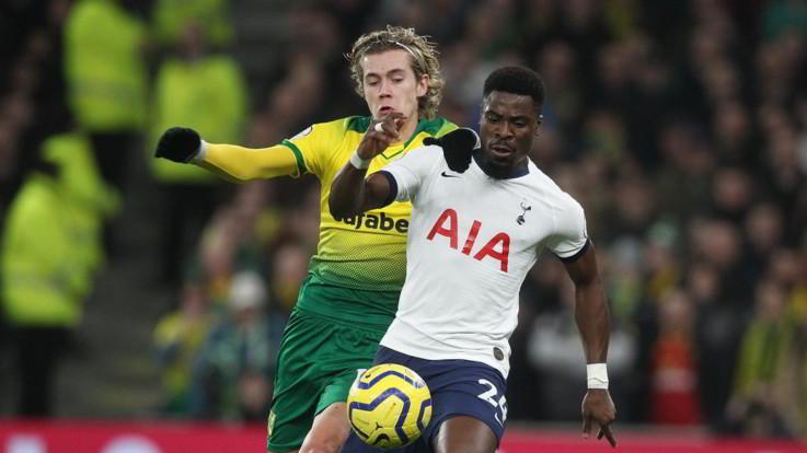 Premier: Tottenham supera Norwich, United ko in casa con il Burnley