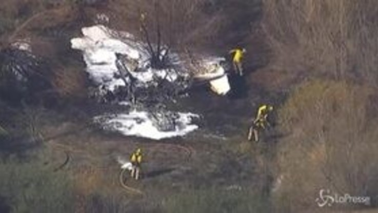 California, precipita aereo da turismo: 4 morti