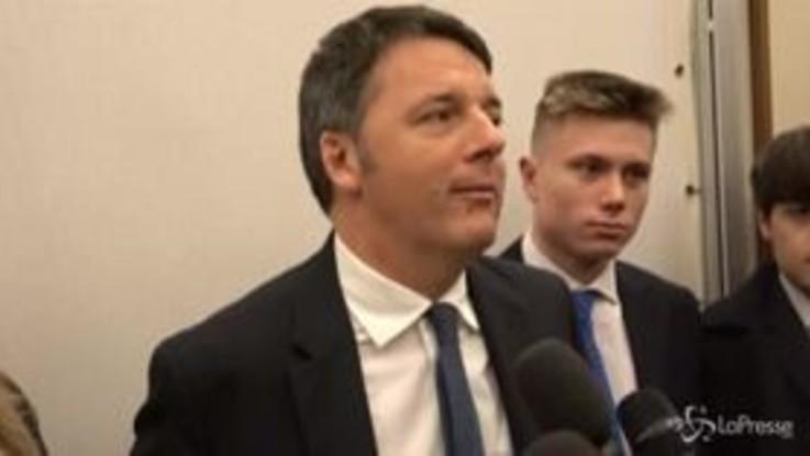 """Prescrizione, Renzi: """"Pd difenda Orlando e non abbracci Salvini"""""""