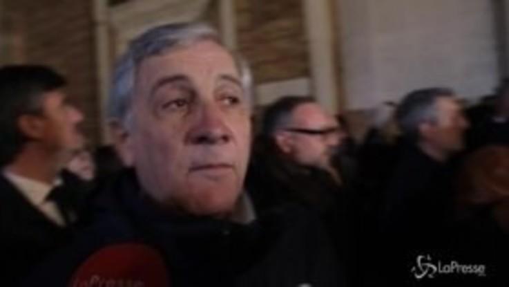 """Regionali, Tajani a Ravenna: """"Vinceremo e il governo dovrà prenderne atto"""""""