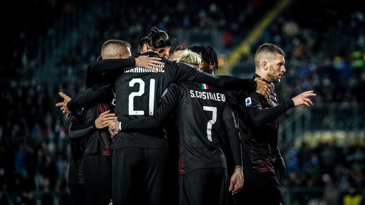 Serie A, Milan soffre ma espugna Brescia