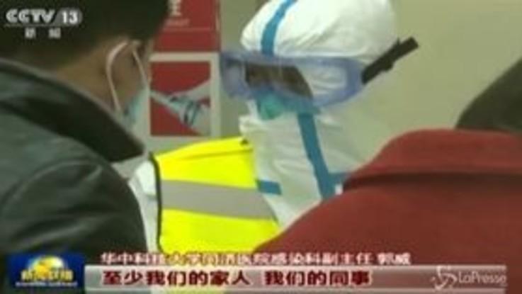 Coronavirus, l'ospedale di Wuhan preso d'assalto