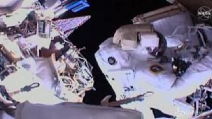 Iss, quarta e ultima passeggiata spaziale per Parmitano