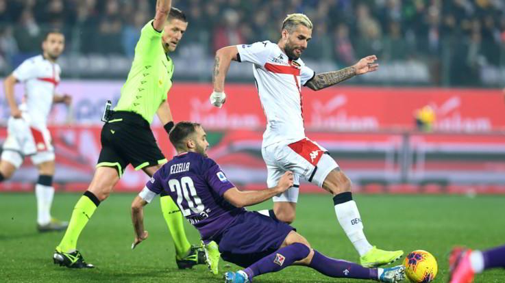 Serie A, Fiorentina-Genoa finisce 0-0. Il Bologna passa a Ferrara