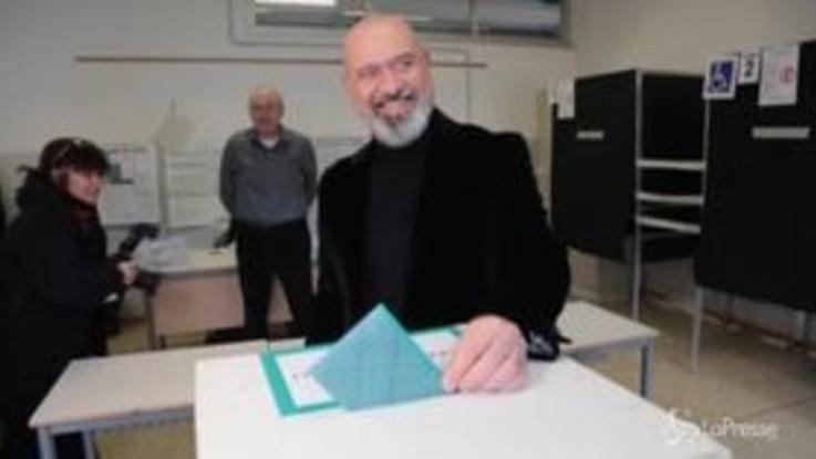 Regionali in Emilia-Romagna, Bonaccini al voto a Campogalliano