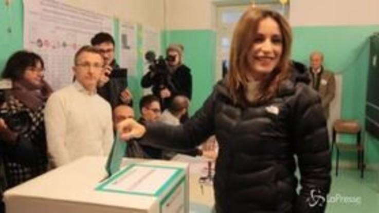 Regionali in Emilia-Romagna, Borgonzoni al voto a Bologna