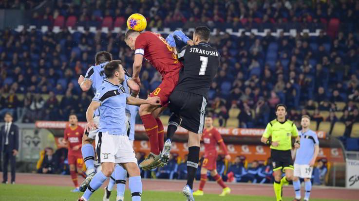 Finisce pari il derby capitolino: Roma-Lazio 1-1