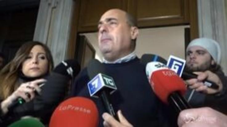 """Zingaretti: """"Si sta tornando a sistema bipolare, M5s ne prenda atto"""""""