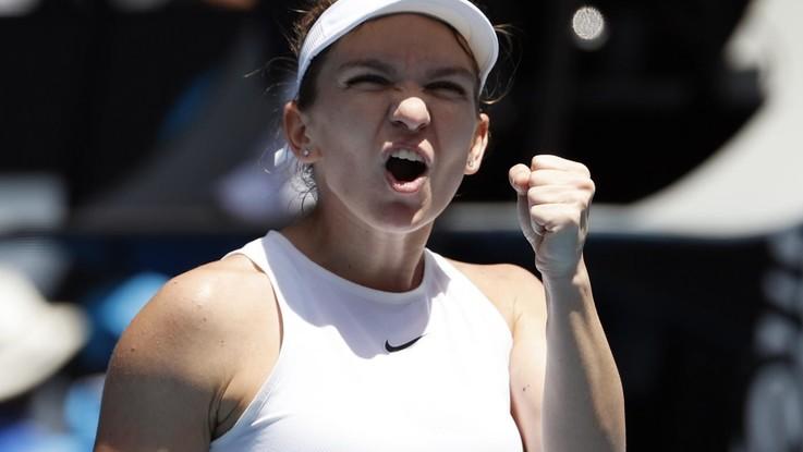 Australian Open: Simona Halep ai quarti con Muguruza e Kontaveit