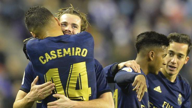 Liga: Real Madrid in vetta da solo, +3 sul Barca