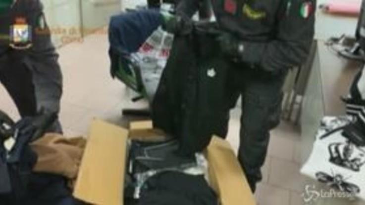 Como, contrabbando di abiti griffati per 1 milione di euro: tre denunce