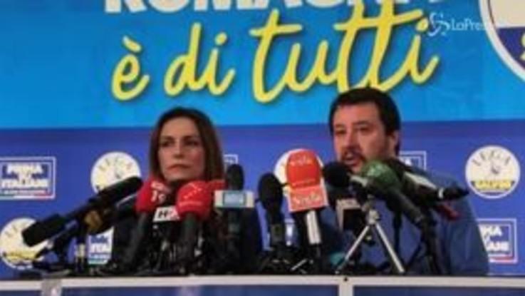 """Emilia-Romagna, Salvini: """"Abbiamo dato voce a chi non ce l'aveva da Bibbiano a Bologna"""""""