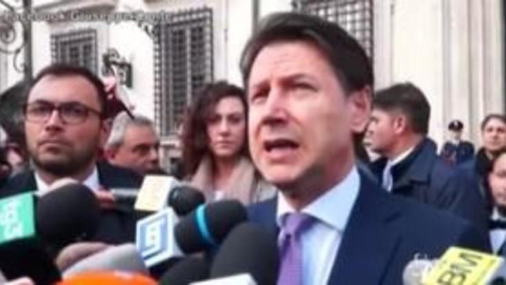 """Regionali, Conte attacca Salvini: """"Qualcuno voleva citofonare anche qui a Palazzo Chigi"""""""