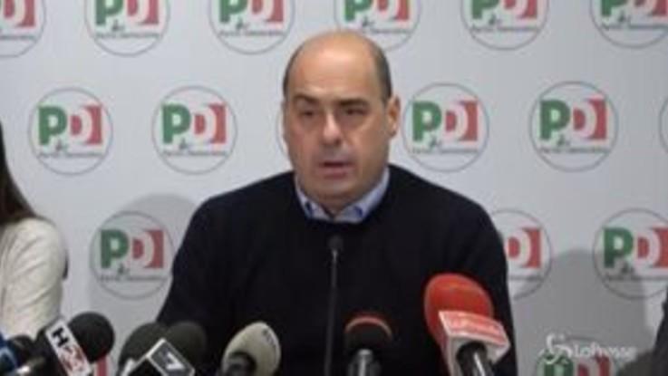"""Governo, Zingaretti: """"Ad alleati chiediamo maggiore collaborazione"""""""