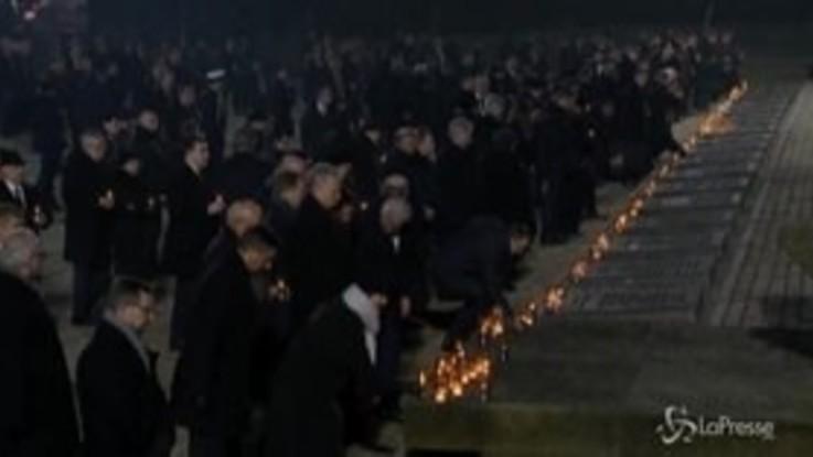 Giorno Memoria: le commemorzioni ad Auschwitz