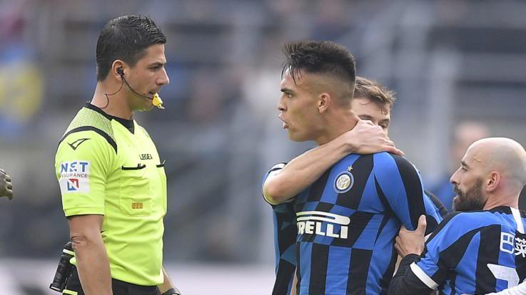 Serie A, Inter: stop di 2 turni per Lautaro Martinez, salta il derby