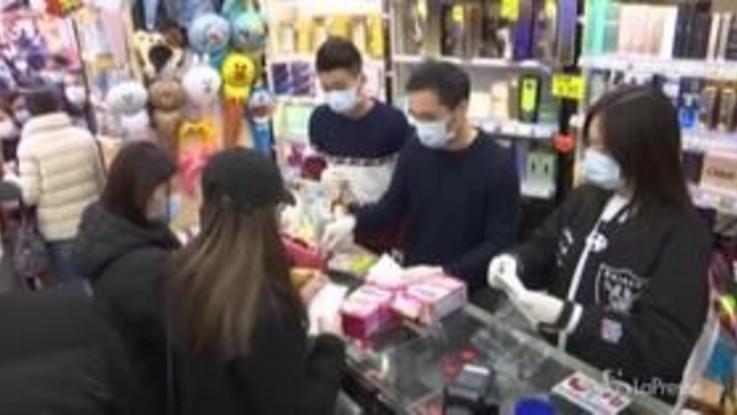 Virus cinese, a Hong Kong code per comprare le mascherine