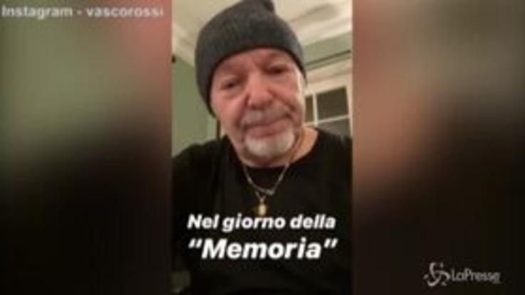 """Medaglia d'onore al padre, Vasco Rossi si commuove: """"Importante ricordare le vite sacrificate per la democrazia"""""""