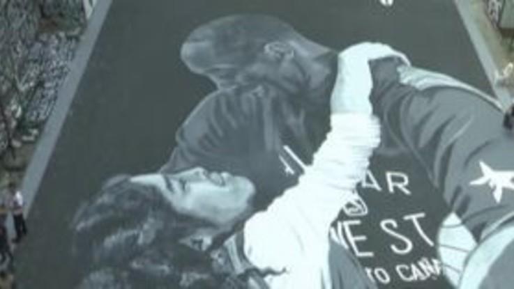 A Manila un enorme murale per ricordare Kobe Bryant e la figlia Gianna
