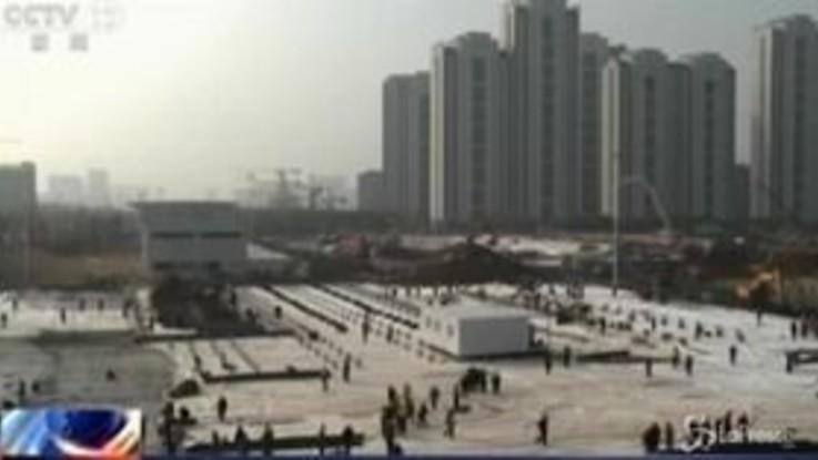 Virus Cina: due nuovi ospedali a Wuhan, corsa contro il tempo per terminarli