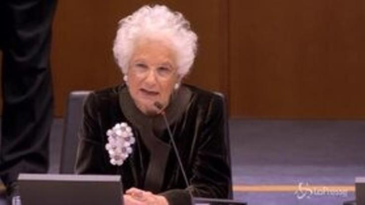 """Parlamento europeo, Segre: """"Ancora oggi qualcuno nega l'Olocausto"""""""