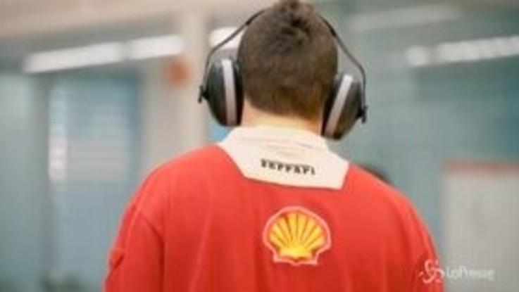 Formula 1, il primo rombo della Ferrari 2020