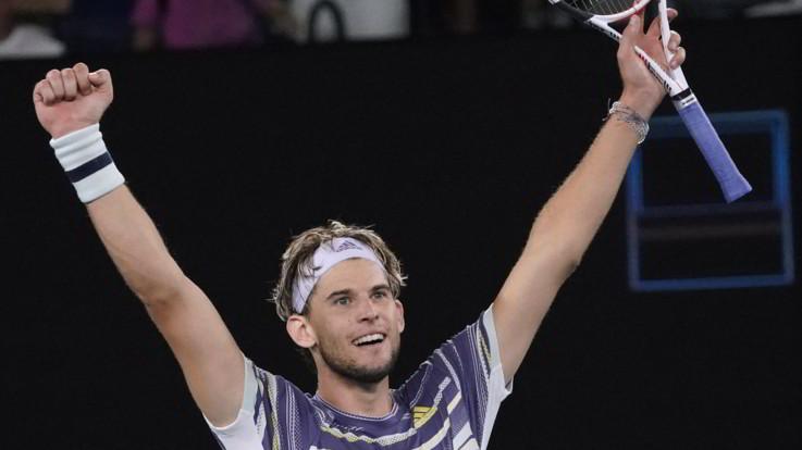 Australian Open: Thiem batte Zverev, in finale contro Djokovic