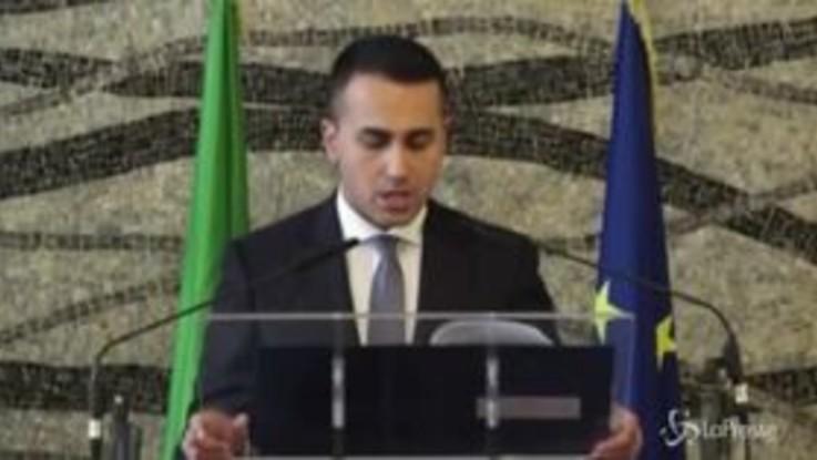 """Coronavirus, Di Maio: """"L'invito è alla tranquillità, l'Italia è al più alto livello di cautela"""""""