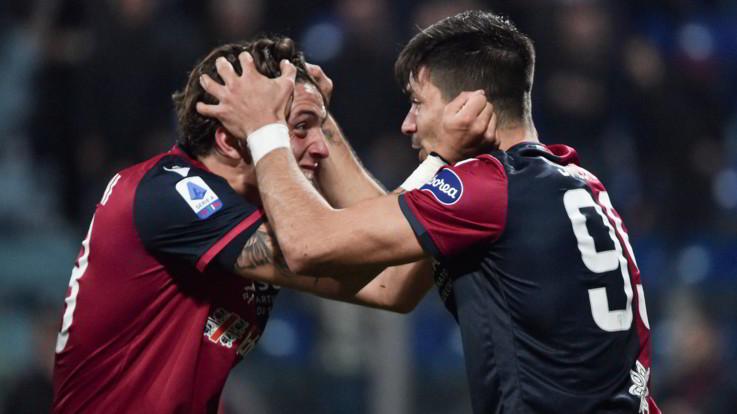 Serie A: Cagliari-Parma 2-2 , i ducali agguantano il pari al 94'
