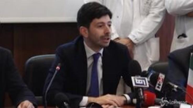 Coronavirus isolato allo Spallanzani, l'annuncio del ministro Speranza