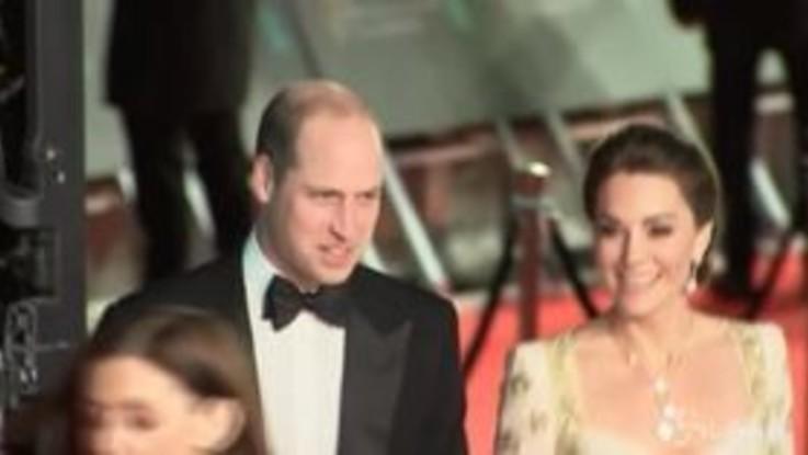 Bafta Awards, William e Kate arrivano alla cerimonia