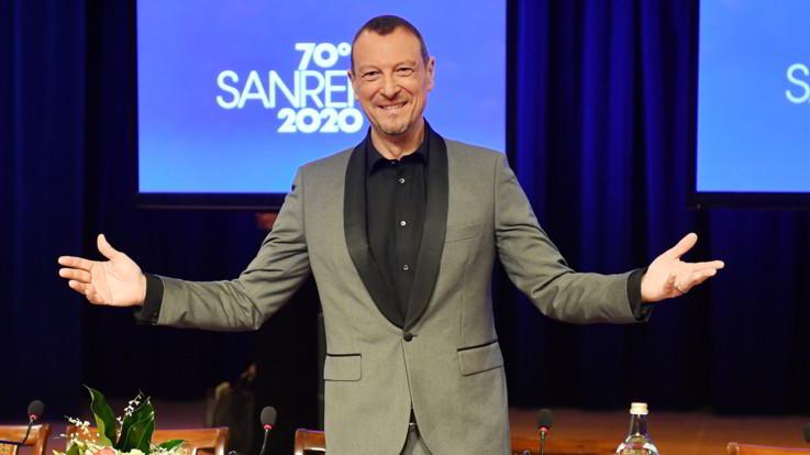 """Sanremo, Amadeus: """"Avverto responsabilità, sarà un Festival imprevedibile"""""""