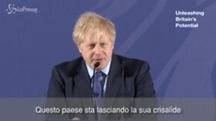 """Brexit, Boris: """"Non ci sarà concorrenza sleale all'Ue da parte del Regno Unito"""""""