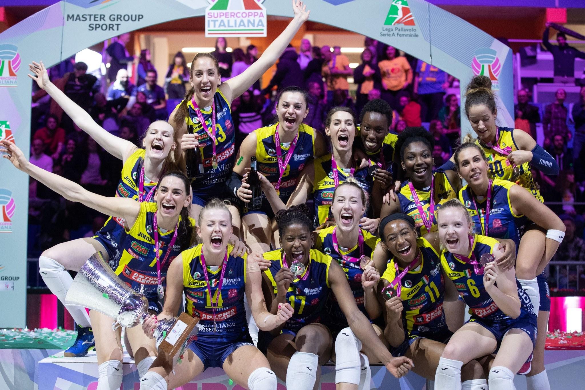 Coppa Italia femminile: trionfa Conegliano, 3-0 a Busto in finale