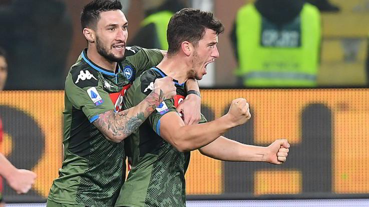 Serie A, Sampdoria-Napoli 2-4