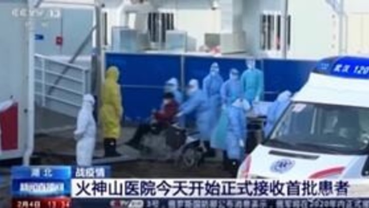 Coronavirus, i primi pazienti ricoverati nel nuovo ospedale di Wuhan