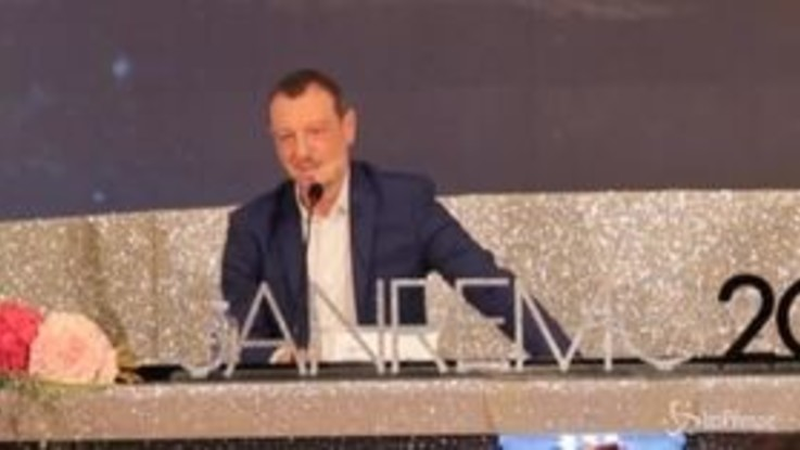 """Sanremo, Amadeus: """"Fiero di iniziare il Festival con Rula e Diletta"""""""