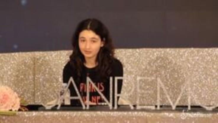 Sanremo, Tecla Insolia la sedicenne che canta le donne e non usa i social